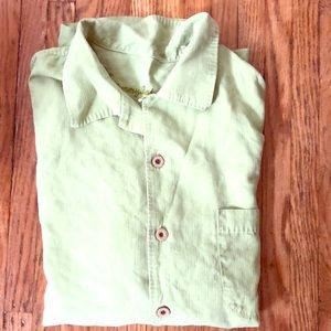Authentic Tommy Bahama shirt - 100% silk (men's)